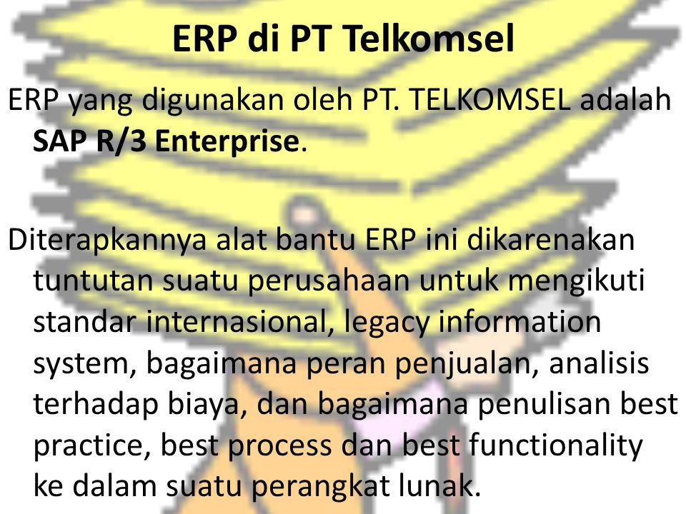 ERP di PT Telkomsel