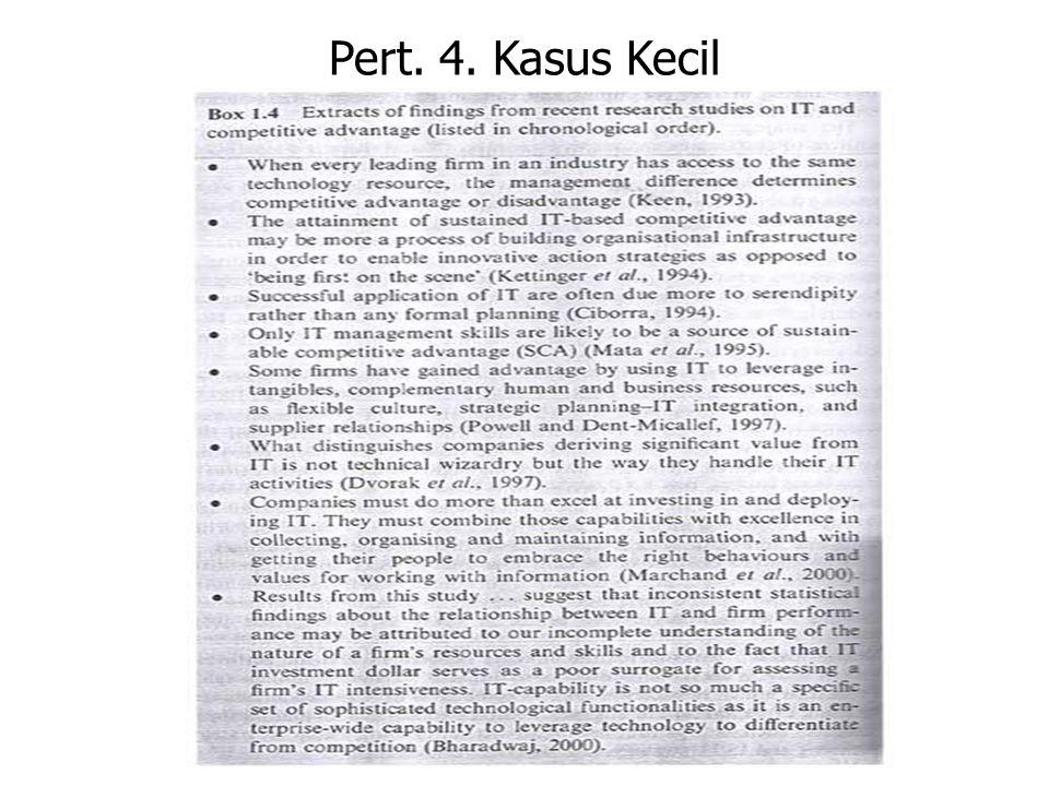 Pert. 4. Kasus Kecil