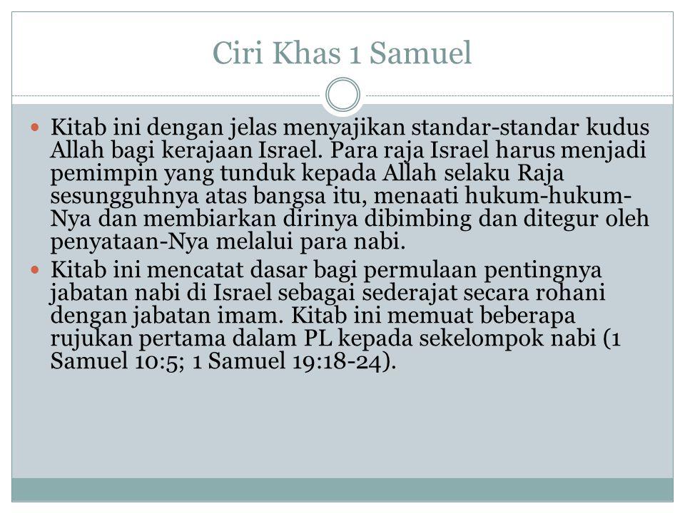 Ciri Khas 1 Samuel