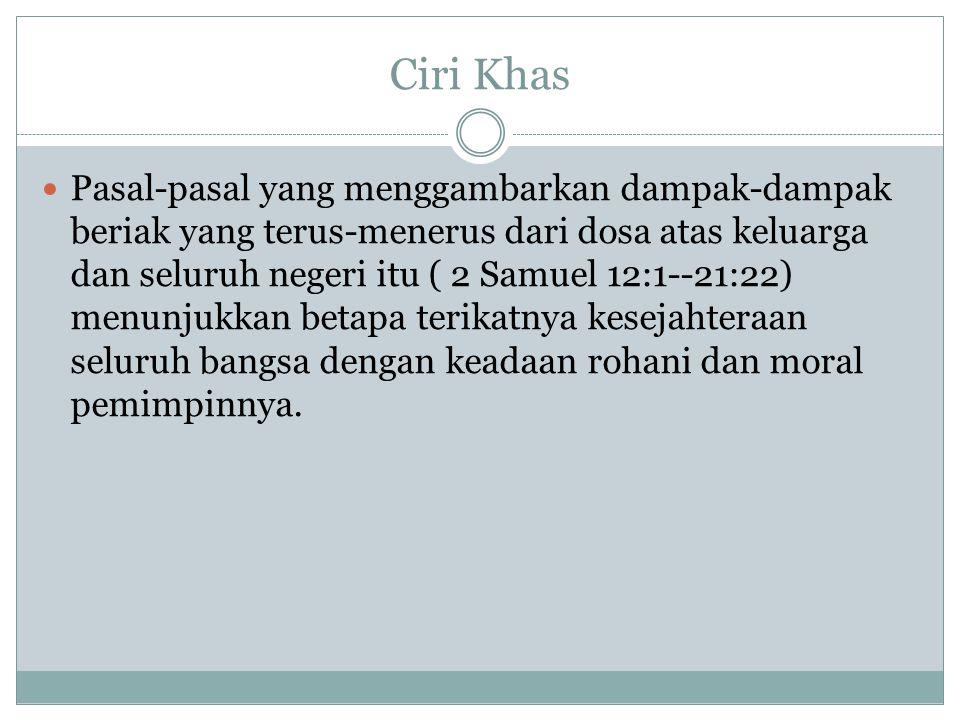 Ciri Khas