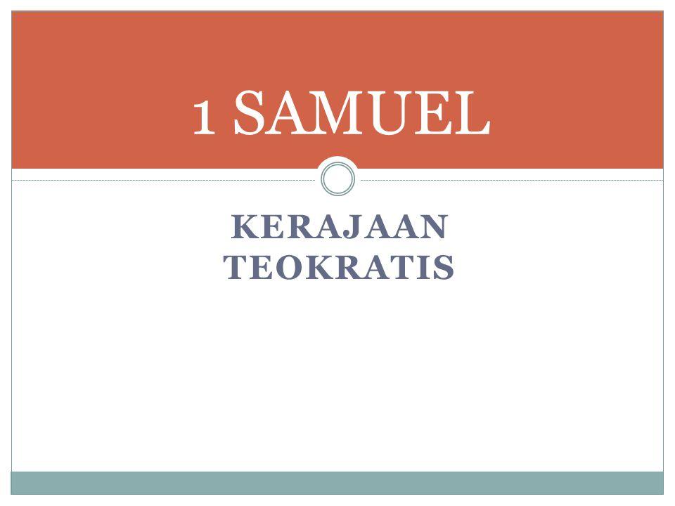 1 SAMUEL Kerajaan Teokratis