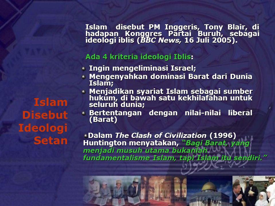 Islam Disebut Ideologi