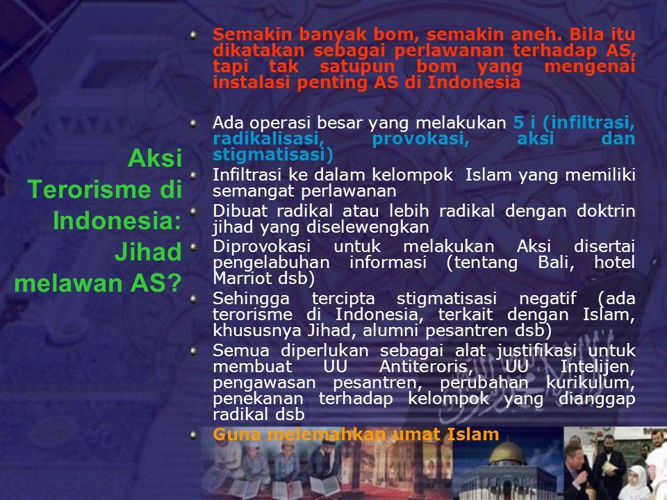Aksi Terorisme di Indonesia: Jihad melawan AS