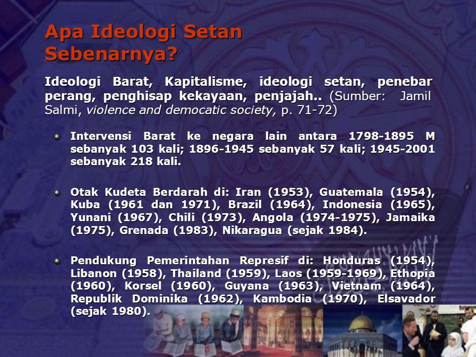 Apa Ideologi Setan Sebenarnya
