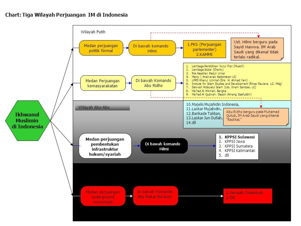 Chart: Tiga Wilayah Perjuangan IM di Indonesia