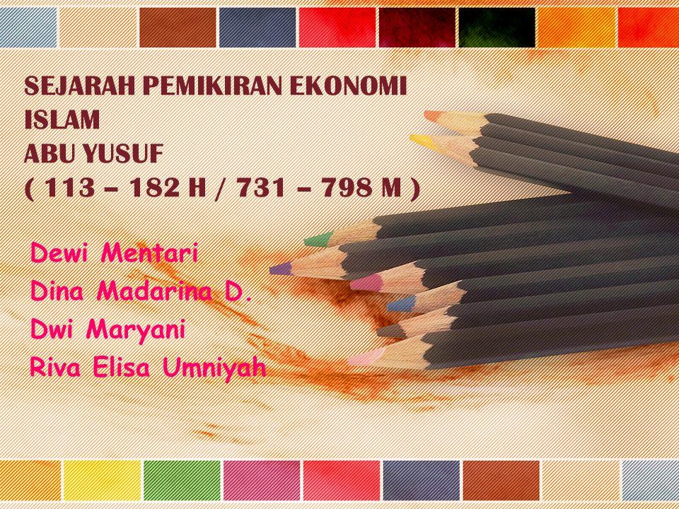 Dewi Mentari Dina Madarina D. Dwi Maryani Riva Elisa Umniyah