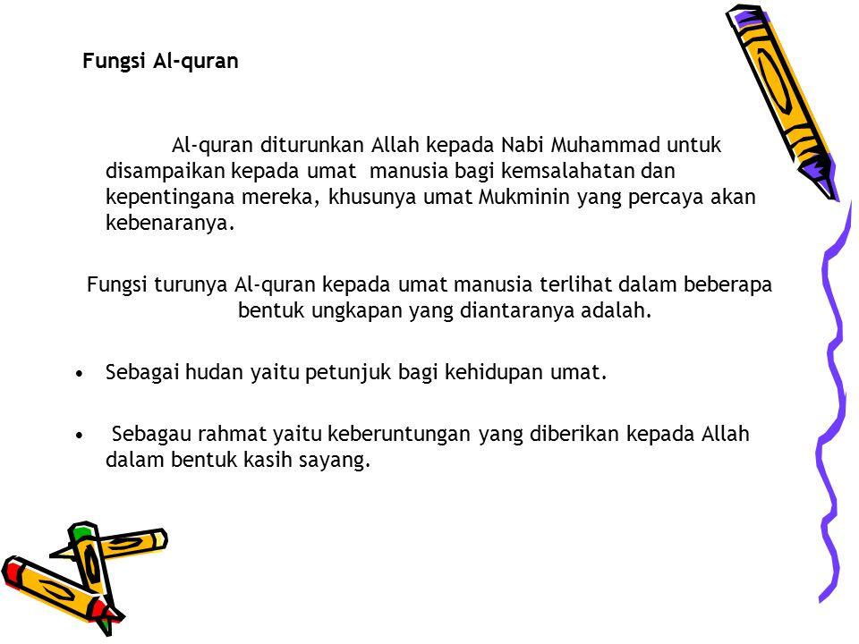 Fungsi Al-quran