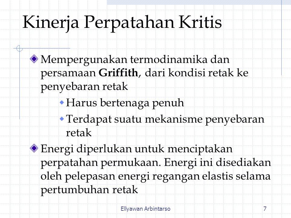 Kinerja Perpatahan Kritis