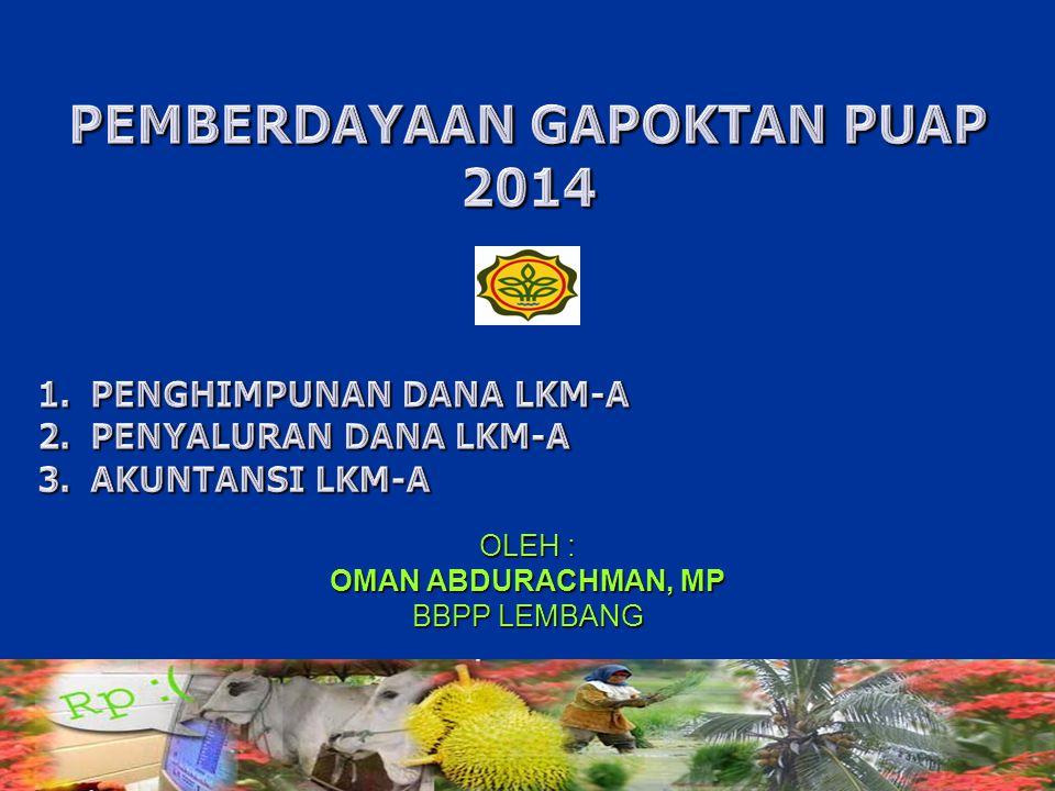 PEMBERDAYAAN GAPOKTAN PUAP 2014