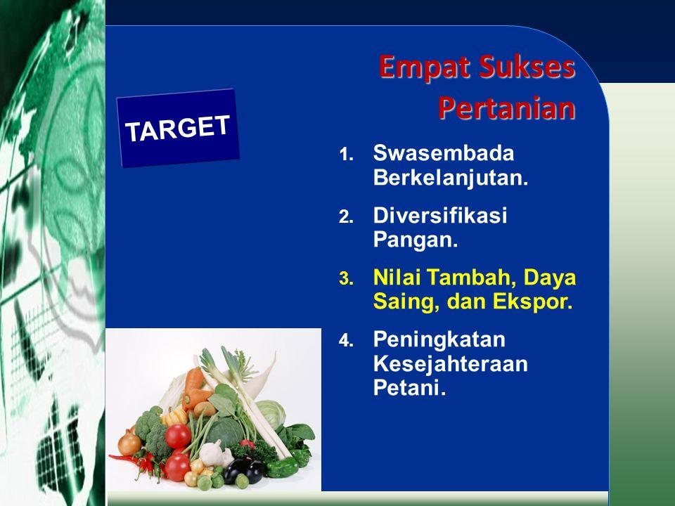 Empat Sukses Pertanian
