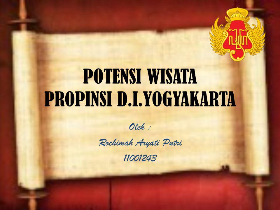 POTENSI WISATA PROPINSI D.I.YOGYAKARTA