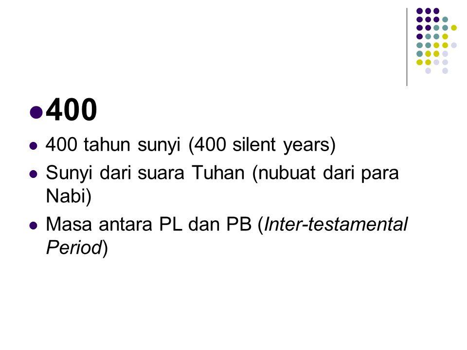 400 400 tahun sunyi (400 silent years)