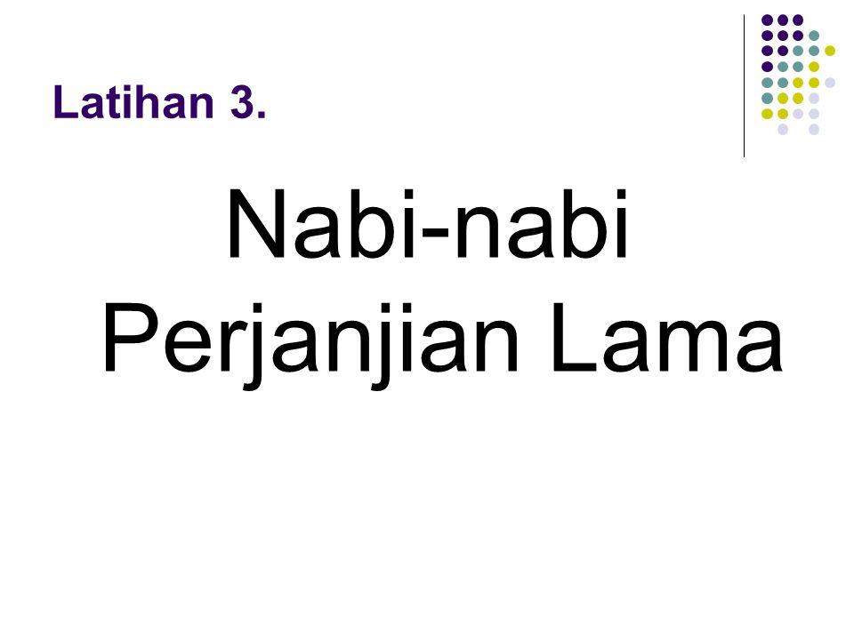 Nabi-nabi Perjanjian Lama