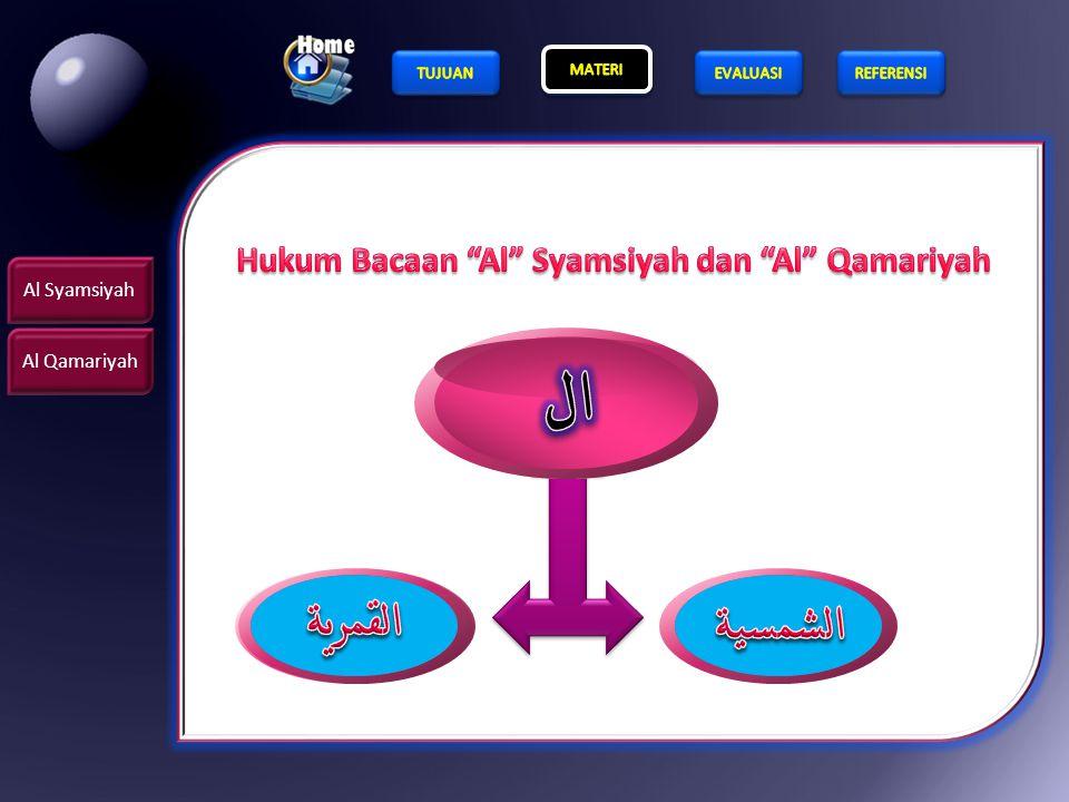 Hukum Bacaan Al Syamsiyah dan Al Qamariyah
