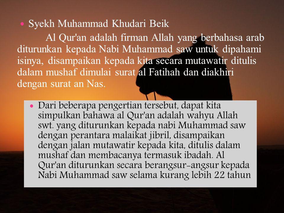 Syekh Muhammad Khudari Beik