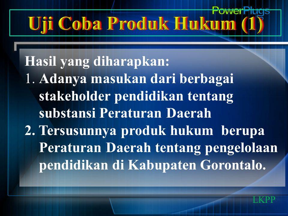 Uji Coba Produk Hukum (1)