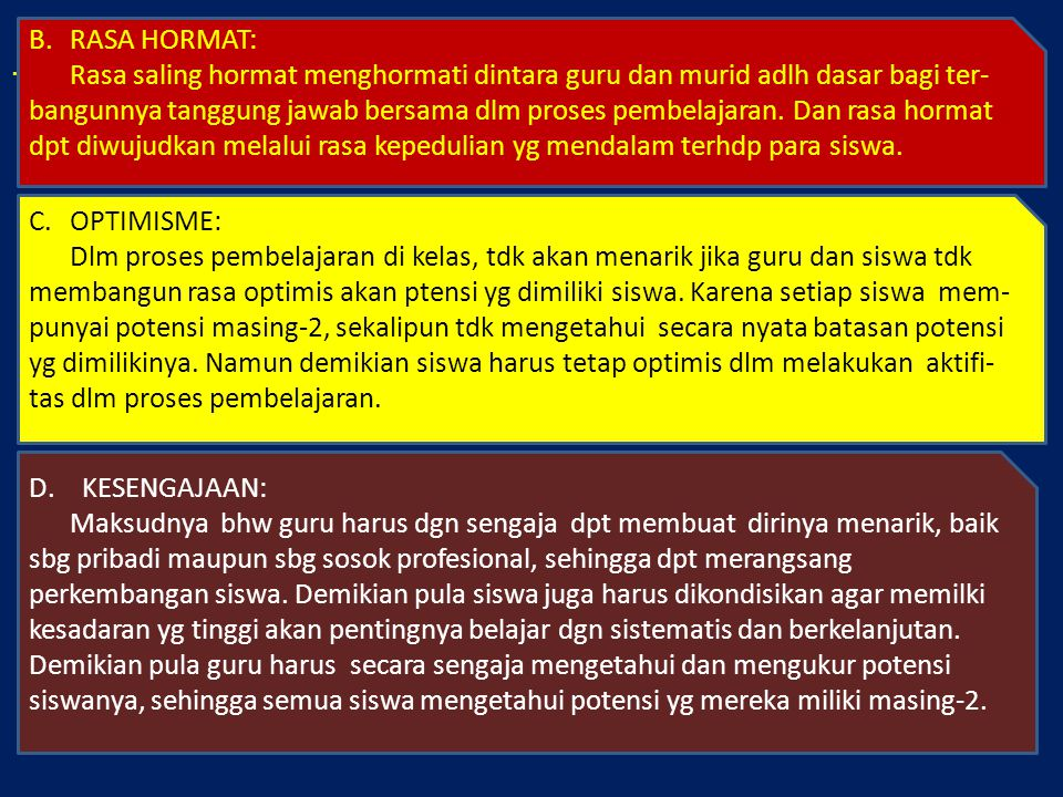 . RASA HORMAT:
