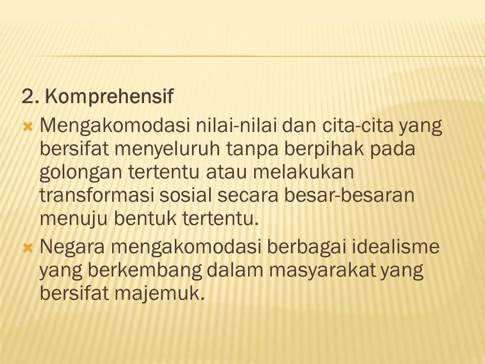2. Komprehensif