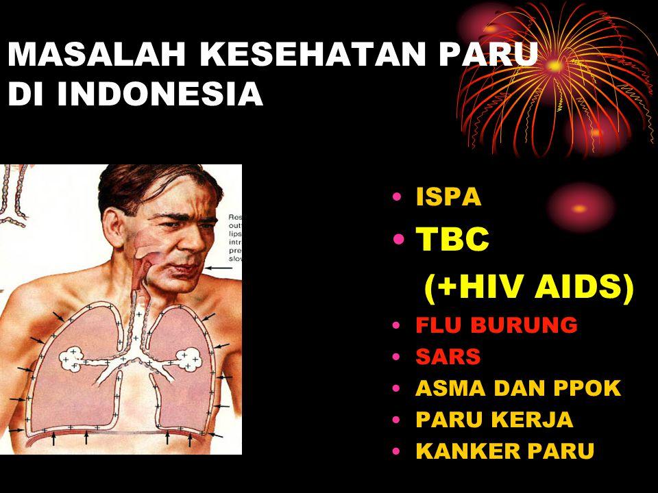 MASALAH KESEHATAN PARU DI INDONESIA