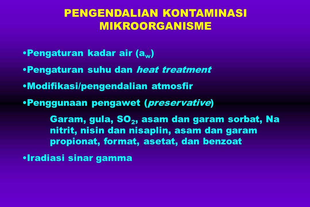 PENGENDALIAN KONTAMINASI MIKROORGANISME