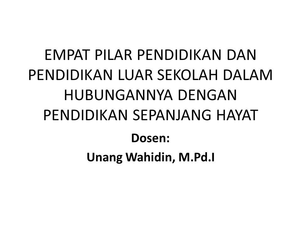 Dosen: Unang Wahidin, M.Pd.I