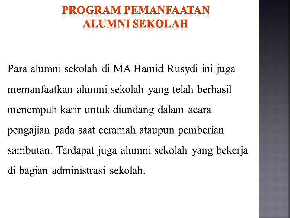 Program pemanfaatan alumni sekolah