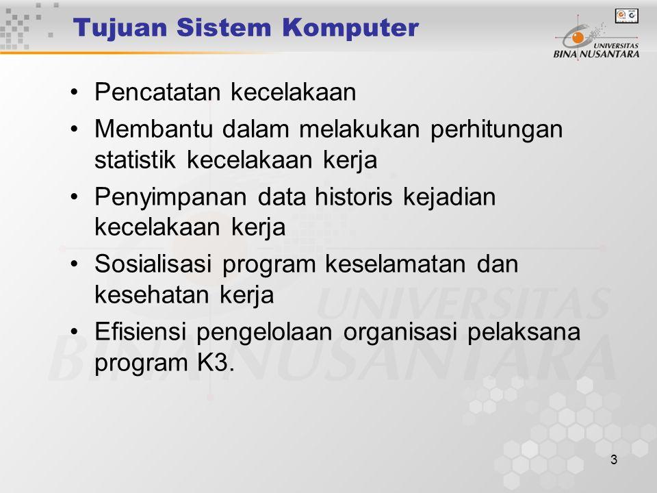 Tujuan Sistem Komputer
