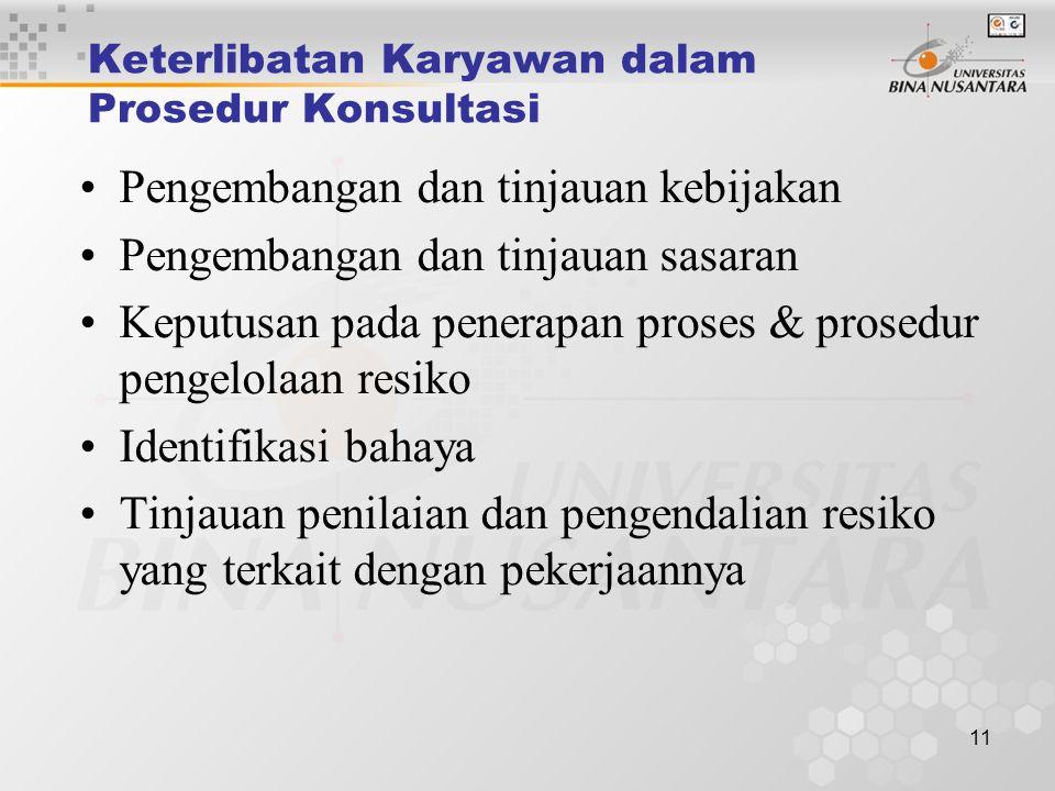 Keterlibatan Karyawan dalam Prosedur Konsultasi