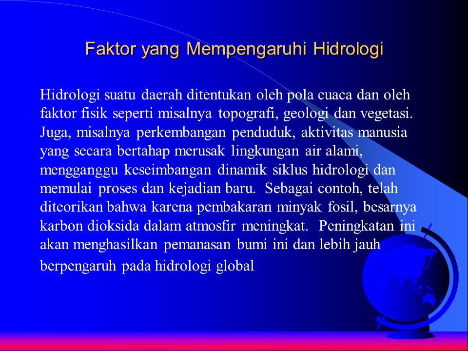 Faktor yang Mempengaruhi Hidrologi