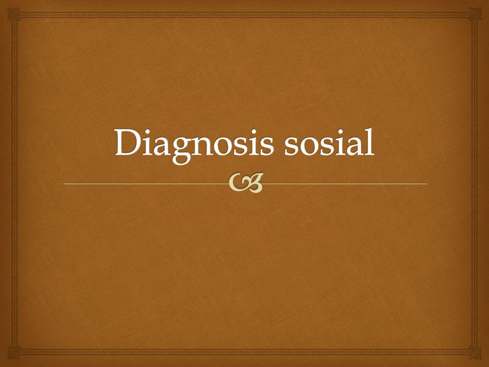 Diagnosis sosial