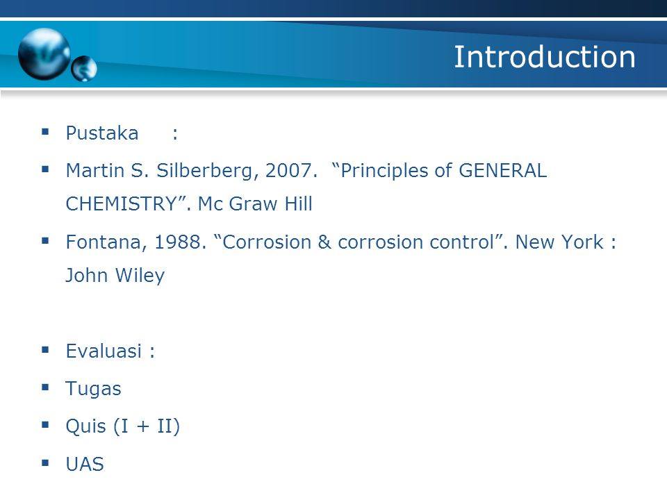 Introduction Pustaka :