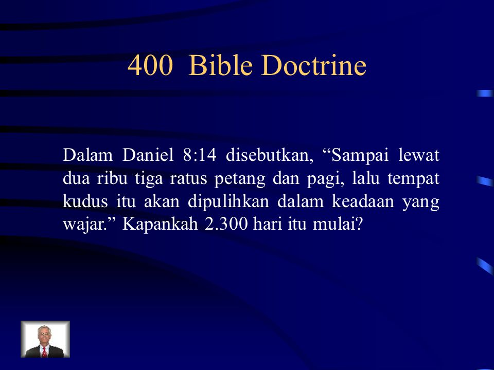 400 Bible Doctrine