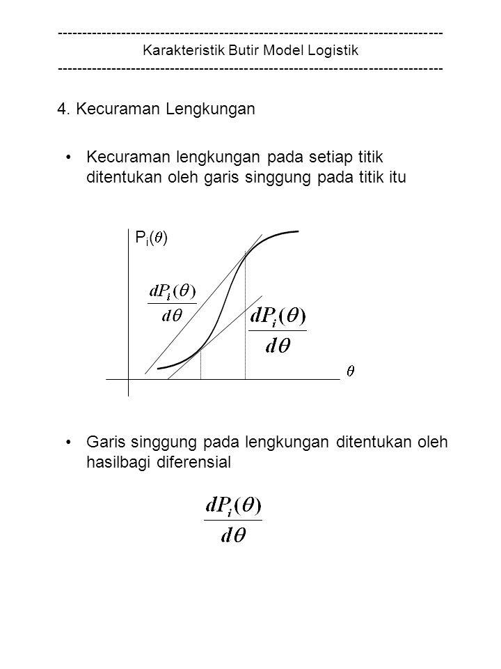 Garis singgung pada lengkungan ditentukan oleh hasilbagi diferensial