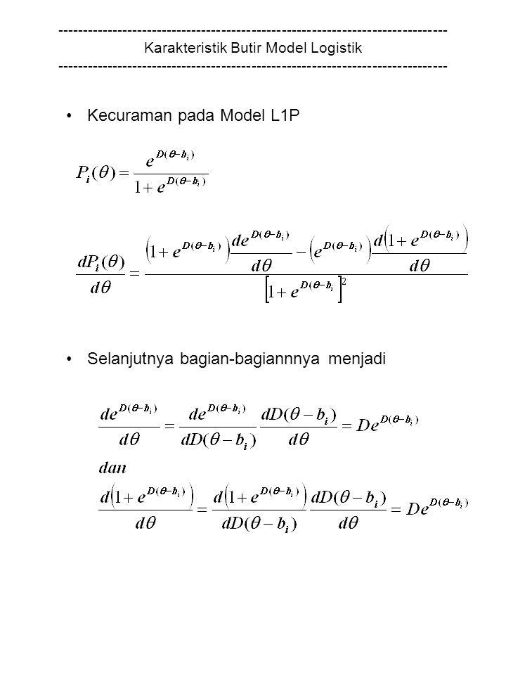 Kecuraman pada Model L1P