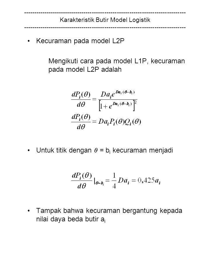 Kecuraman pada model L2P
