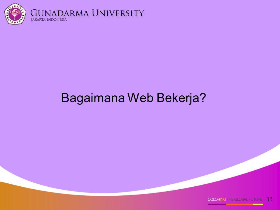 Bagaimana Web Bekerja