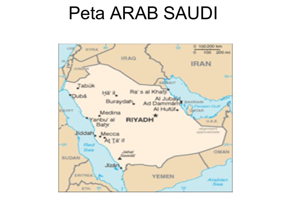 Peta ARAB SAUDI