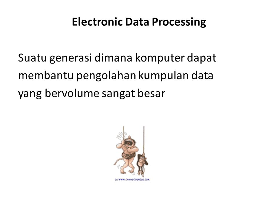 Electronic Data Processing