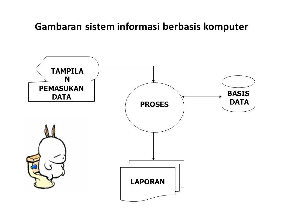 Gambaran sistem informasi berbasis komputer