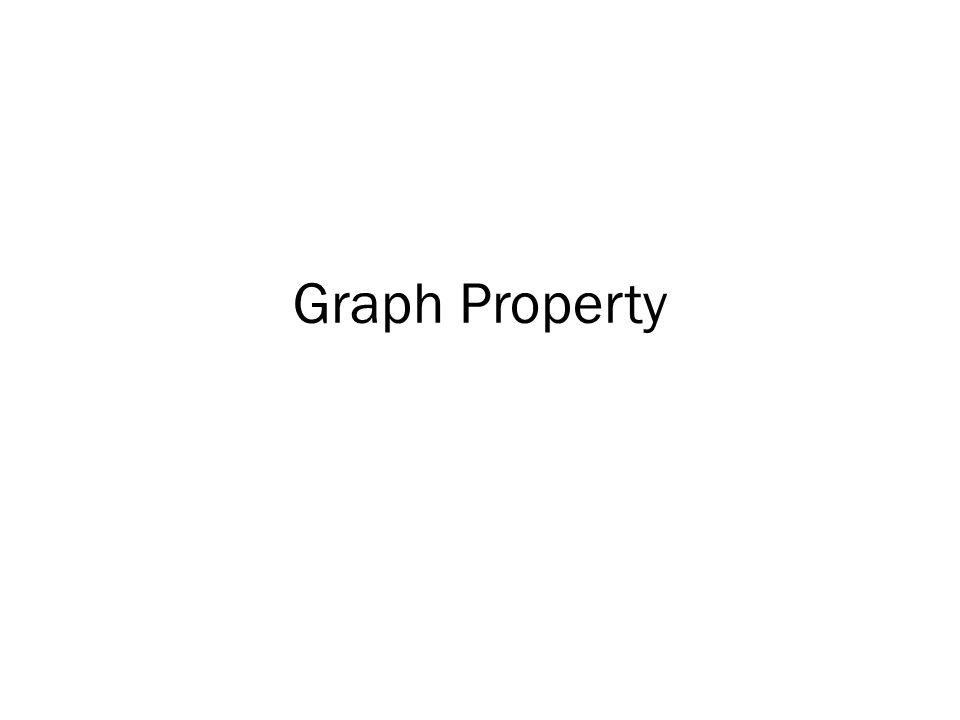 Graph Property