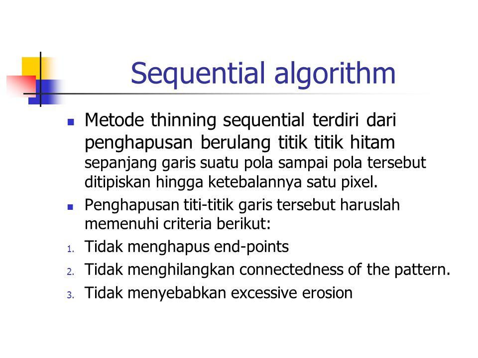 Sequential algorithm