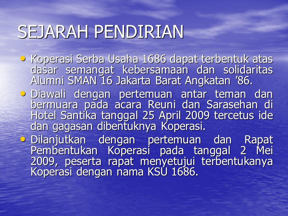 SEJARAH PENDIRIAN