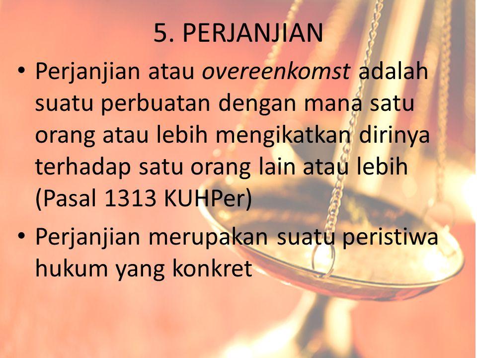 5. PERJANJIAN