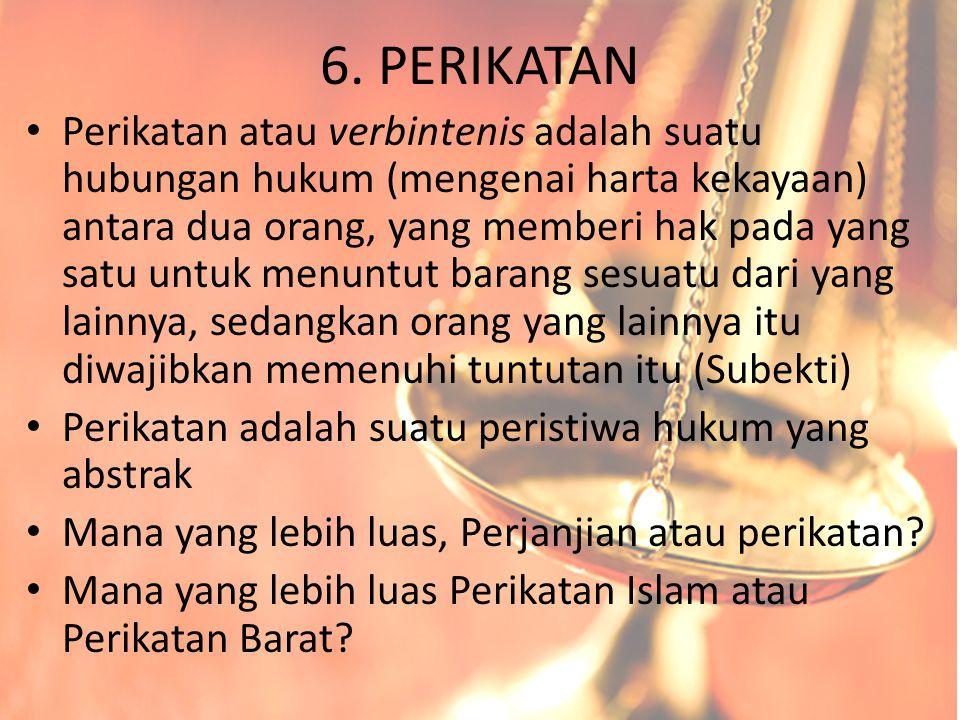 6. PERIKATAN