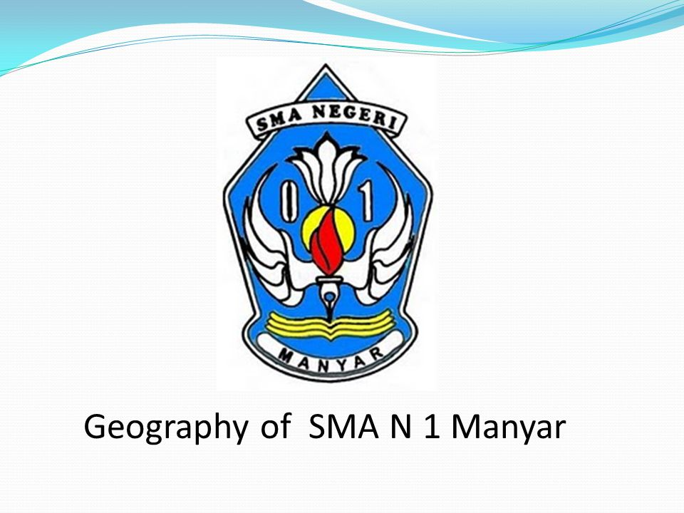 Geography of SMA N 1 Manyar