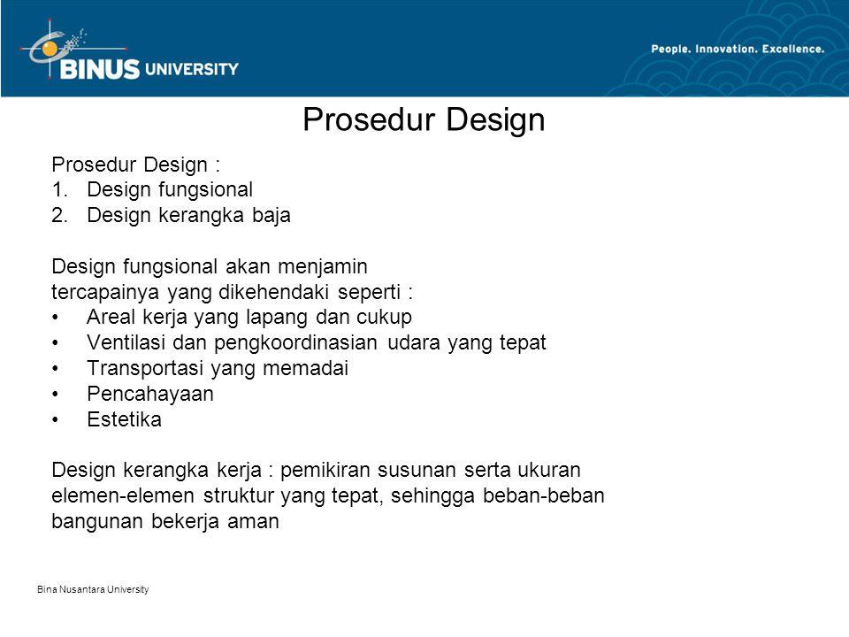 Prosedur Design Prosedur Design : Design fungsional