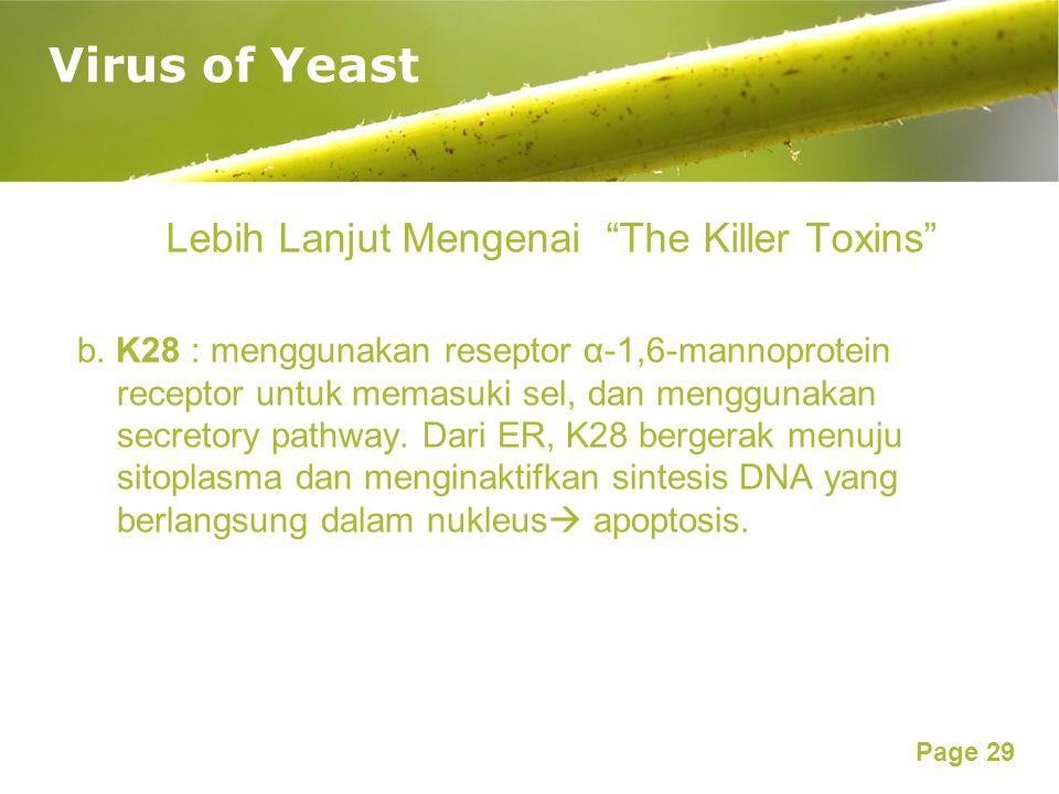Lebih Lanjut Mengenai The Killer Toxins
