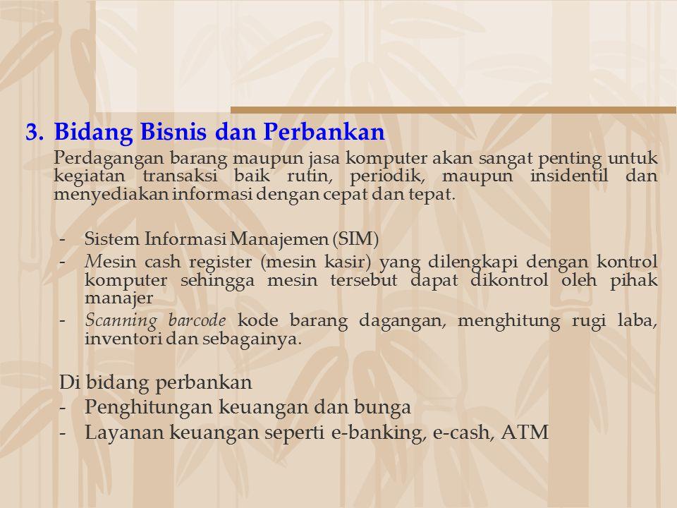 Bidang Bisnis dan Perbankan