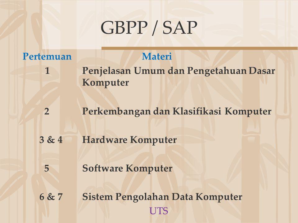 GBPP / SAP