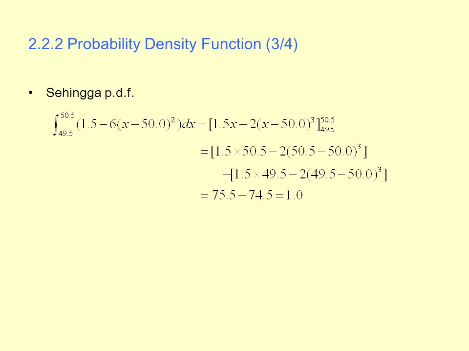 2.2.2 Probability Density Function (3/4)